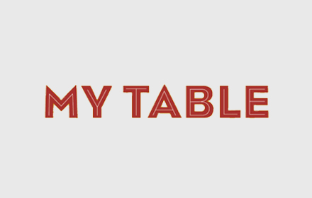My Table Logo
